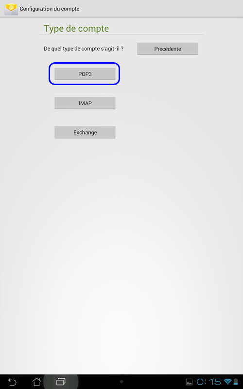 how to delete email contact from android tablet
